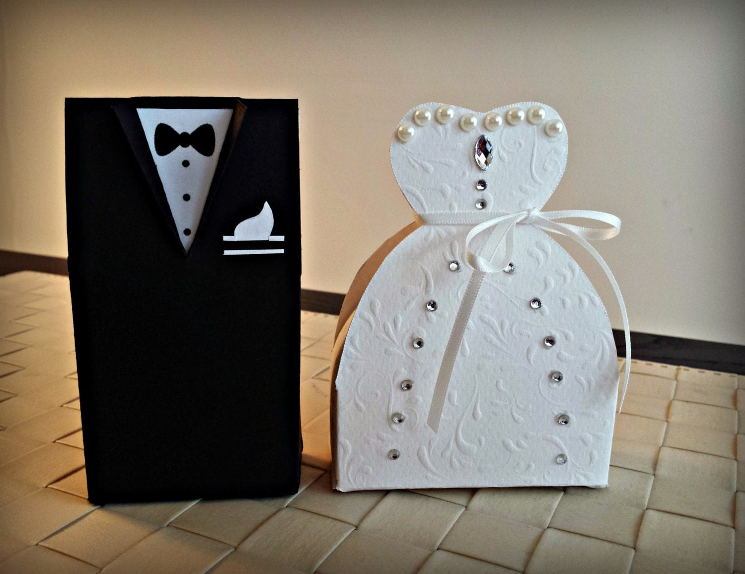 Wedding Gift Boxes: Bride And Groom Favor Boxes. Wedding Favor Boxes. By