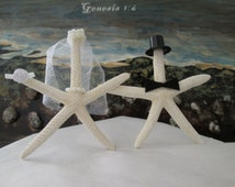 Starfish Cake Topper Nautical Wedding Cake Topper Starfish Wedding cake Topper Shell Wedding Cake topper Custom Wedding Cake Topper