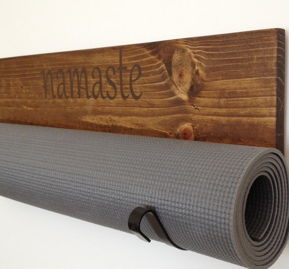 Personalized Yoga Mat Holder Handmade Personalized By