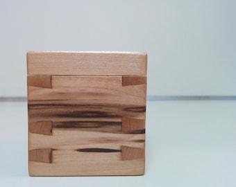 Ambrosia Maple Engagement Ring Box