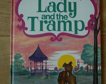 Walt Disney Lady and the Tramp Purnell 1970 Hardback