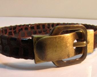 Men Leather Bracelet Magnetic