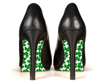 Sole Glo DIY Luck of the Irish Clover Kit to Customize the Soles of Your High Heel Shoes