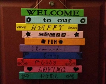 Welcome To Our.... Outdoor sign! 14x14