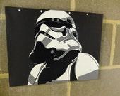 fr listing  stormtrooper star wars stencil art