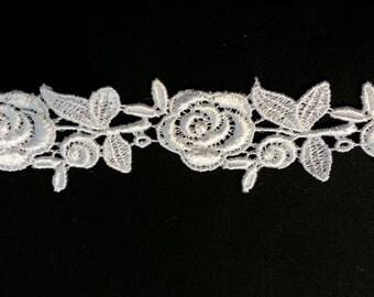 Baroque Rose Lace Trim