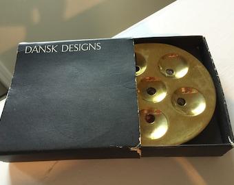 Dansk Brass Mini Taper Candle Holder