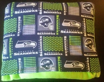 Seahawks Qwillow and matching pillow