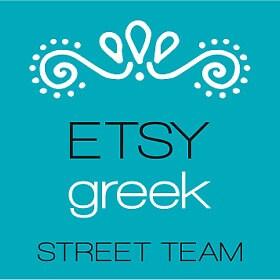 Etsy Greek Street Team