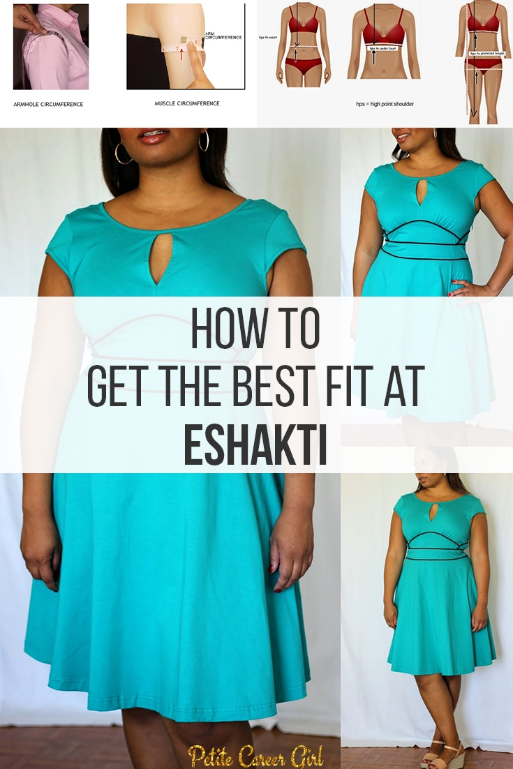 Curvy, Petite Outfit Ideas | Professional and Casual-Chic Fashion and Style Inspiration | How to get the best fit at eShakti! (or other online customized clothing retailer)