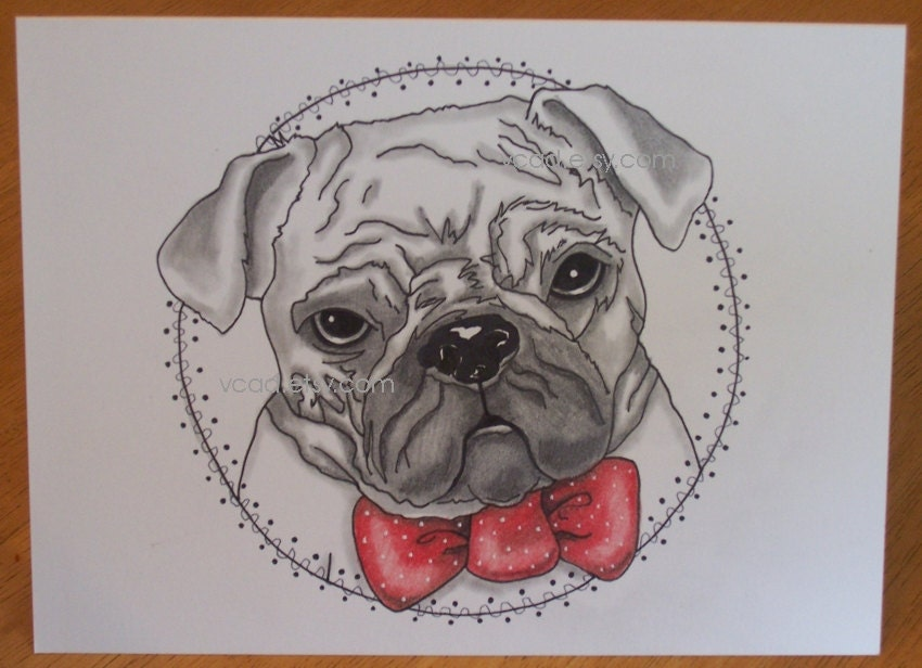 Dessin chien dessin mignon personnage illustration art de par vcad - Dessin chien mignon ...