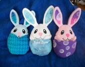Peek a Boo Plush Bunny in Egg