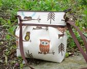 crossbody owl clutch small bag handbag with very long strap