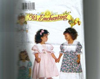 Butterick Girls' Dress and Pantaloons Pattern 3272