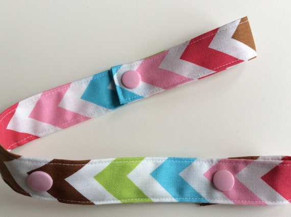 Baby Shower Gifts Under 10 Dollars ~ Chevron toy tether leash strap by justjillhandmade