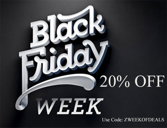 Black Friday Sale 20 Percent Off All Items!