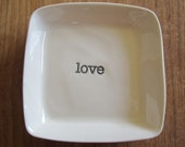Love - Square dish