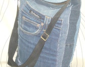 Re-Hanna 8 blue denim bag