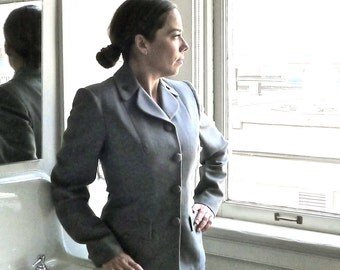 WWII US Cadet Corps Nurse Uniform Grouping Jacket Skirt Suit Overcoat Trench Size XS