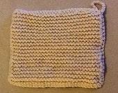 double knit pot holder