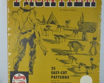 vintage RARE Frontier by Erika Schulz do it yourself DIY Reynolds Aluminum 25 patterns USA