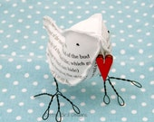 2nd Anniversary Bird Poem I carry your heart with me EE Cummings- Made To Order