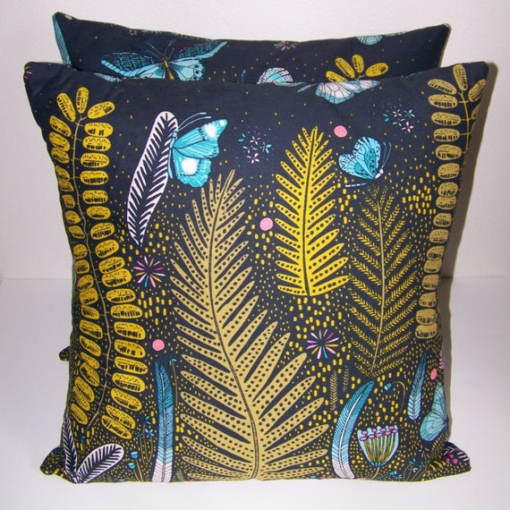 18x18 Pillows with removable covers made from by ZoeJonesDesigns