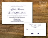Timeless Classic Wedding Invitation Suite, Personalized Instant Download, Printable DIY