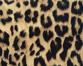 Donmalotmakeup reserved sale -Cheetah print home decor fabric