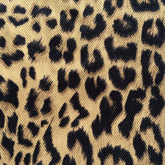 Donmalotmakeup Reserved Sale Cheetah Print Home Decor Fabric