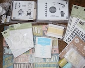 Huge Bunch of Stampin' Up Scrapbooking Stamping Supplies