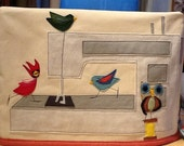 Birdy Bird Large Sewing Machine Cover