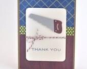 Handy Man Thank You Card, Male Thank You Card
