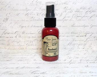 Tattered Angels: Plain Jane Baseboard Semi Opaque Matte Mist - Red Rocks