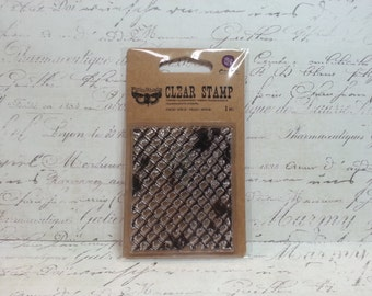 Prima Clear Cling Stamps: Finnabair Collection - Wire Net