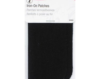 Singer - Iron On PATCHES - Black