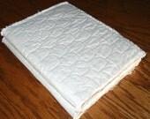 Blank Fabric art journal.