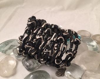 Tribal Wrap Cuff Bracelet