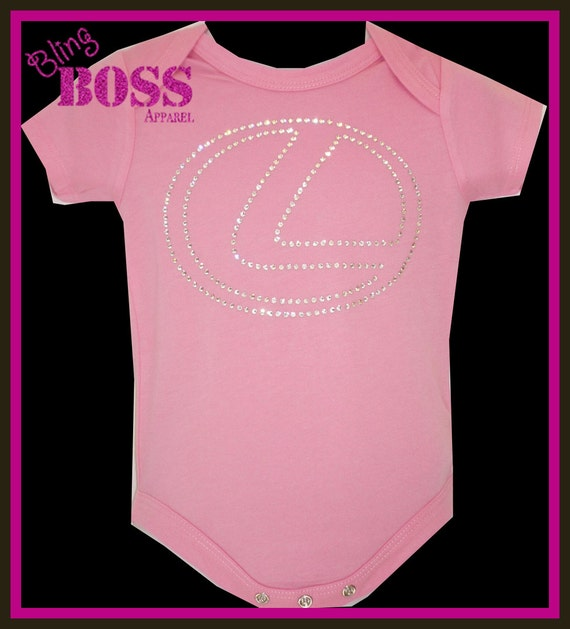 Design Your Own Custom Bling Onesie Or Tee By Designsbycrissi