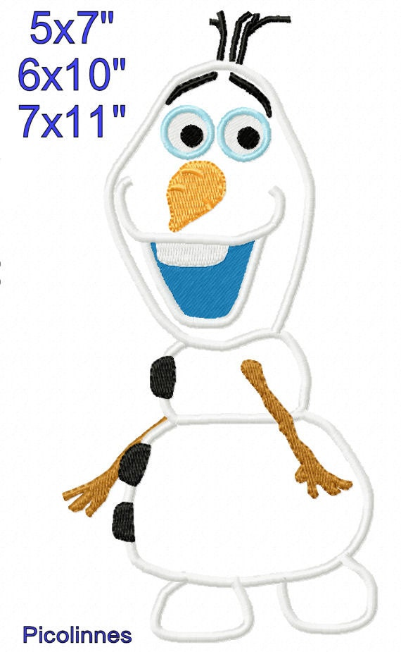Oiaf snowman walking applique design machine embroidery for 7x11 bathroom layouts