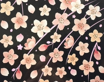 Cherry Blossom Stickers - Japanese Stickers - Sakura Stickers - Pink Stickers - Flower Stickers S267