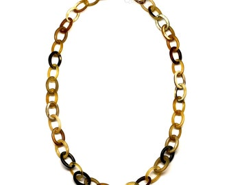 Horn Chain Necklace - Q4387