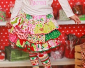 Fun 'N Funky Christmas Ruffle Skirt - 2014