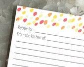 Speckle Recipe Cards