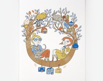 In The Tree (Again) - Giclee Print