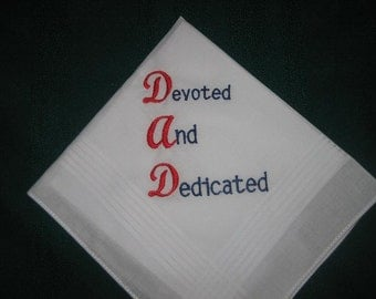 Father's Day Handkerchief 189 FREE gift box and FREE shipping in the US