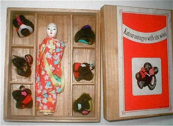 Geisha Doll Wigs 60