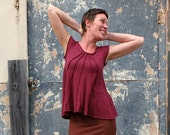 ORGANIC Lovely Day Ritual Wanderer Shirt ( light hemp and organic cotton knit ) - organic shirt