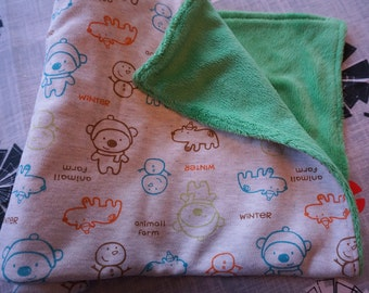 Gender Neutral Baby Security Blanket