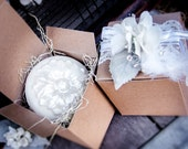 Coconut Milk Soap, Vintage Gift Box, Wedding Gift, Shower Gift, Gift Box Soap, Shea Butter Soap, Birthday Gift, Hostess Gift, Holiday Gift